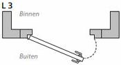 L3 - Links buitendraaiend